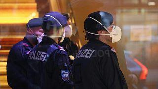 Austrian police in Innsbruck