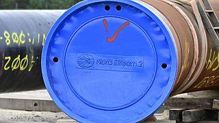 Photo d'archive : le gazoduc Nord Stream 2 à Lubmin (nord-est de l'Allemagne), le 26/03/2019