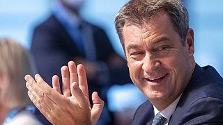 Markus Söder ist auf dem Parteitag der CSU als Vorsitzender im Amt bestätigt worden
