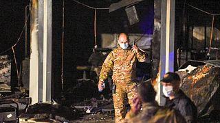 Kuzey Makedonya'daki yangın sonrası