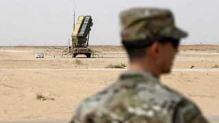 سامانه دفاع موشکی آمریکایی در نزدیکی پایگاه هوایی سلطان در عربستان سعودی
