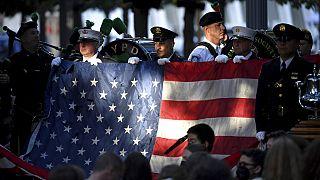 Μανχάταν - Τελετή μνήμης για τα 20 χρόνια από την 11η Σεπτεμβρίου