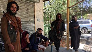 عناصر تابعين لحركة طالبان في إقليم بانشير