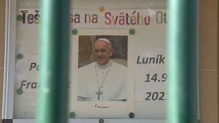 Papa visita os mais pobres da Eslováquia