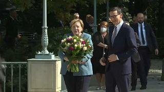 """Polen: Merkel kritisiert """"hybride Attacken"""" durch Migranten aus Belarus"""