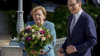 Ангела Меркель в Польше
