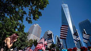 موقع هجوم 11 سبتمبر أيلول في نيويورك