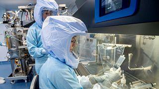BioNTech'in almanya'nın Marburg kentindeki Covid-19 aşısının üretim merkezi