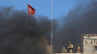 موقع للجيش التركي في إدلب