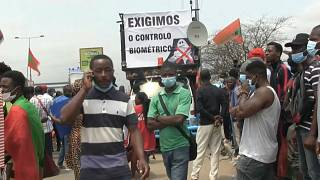 Angola: Opposition supporters protest electoral law change