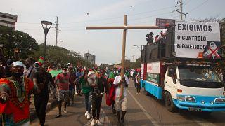Angola : manifestation contre une réforme électorale