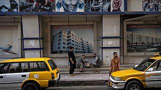 Auf den Straßen Kabuls