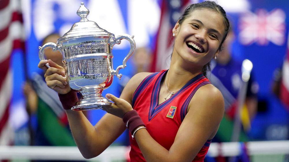 Gran Bretaña saborea una nueva estrella deportiva en el campeón de tenis Raducanu