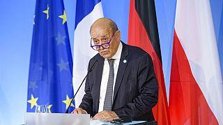 Fransa Dışişleri Bakanı Le Drian