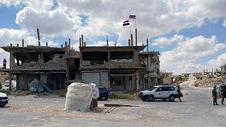 درعا بعد دخول قوات الأسد إليها