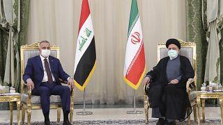 مصطفی کاظمی و ابراهیم رئیسی