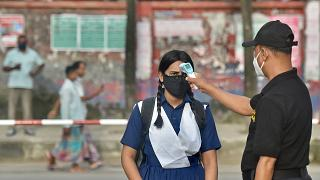 Bangladesh schools reopened after 18 months in one of the world's longest shutdowns due to the Covid-19 coronavirus pandemic.