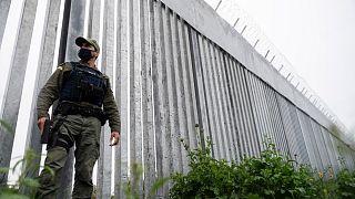 Yunanistan'ın göçmen akınını engellemek için Türkiye sınırına çektiği duvar