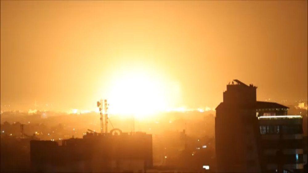 Izraeli műveletek a Gázai övezetben, válaszul a rakéták kilövésére