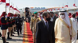 Υποδοχή Νίκου Αναστασιάδη στο Μπαχρέιν
