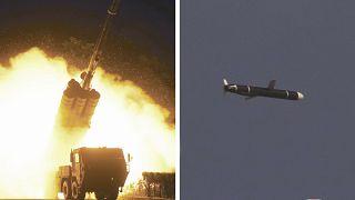 كوريا الشمالية تجري تجربة لإطلاق صاروخ كروز طويل المدى. 11/09/2021