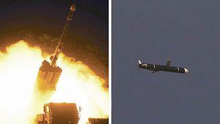 تصاویر منتشر شده از موشکها آزمایش شده