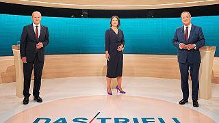 مناظره تلویزیونی نامزدهای جانشینی آنگلا مرکل