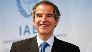 UAEA) Başkanı Rafael Mariano Grossi
