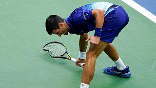 نواک جوکوویچ، تنیسور صرب در فینال مسابقات اوپن آمریکا شکست خورد
