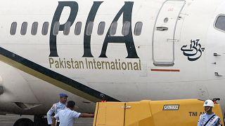 طائرة تابعة للخطوط الجوية الباكستانية في إندونيسيا (أرشيف)