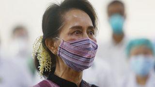 Myanmar eski lideri Aung San Suu Kyi