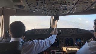 Erster kommerzieller Flug nach Kabul