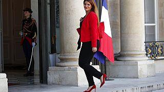 Marlene Schiappa érkezik az Elysée palotába