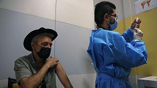 تزریق واکسن کرونا در ایران