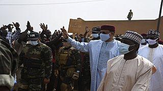 Niger : Mohamed Bazoum en visite dans la région d'Anzourou