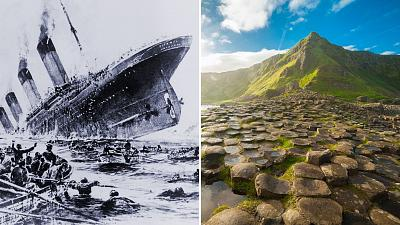 What are the origins of the Titanic in Belfast?