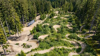After years of diminishing winter visitors, Sankt Corona transformed their slopes into a summer biking resort