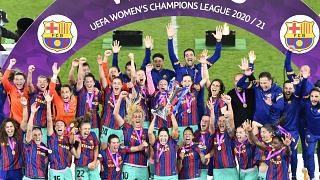Barcelona are defending champions after defeating in last year's final in Gothenburg.