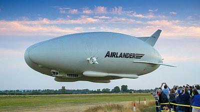 HAV airship on a test flight