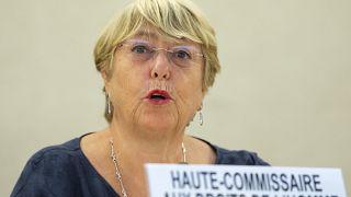 ميشيل باشليه المفوضة العليا لحقوق الإنسان في الأمم المتحدة