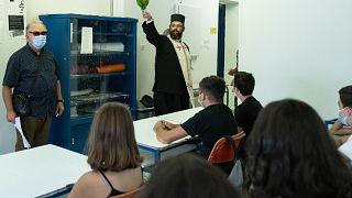 صفوف دراسية في اليونان