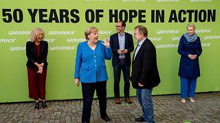 الاحتفال بمرور خمسون عاما على تأسيس منظمة غرينبيس، في شترالسوند- الاثنين ، 30 أغسطس 2021.