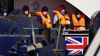 Geflüchtete wollen nach Großbritannien - Symbolbild
