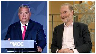 Orbán Viktor a Mathias Corvinus Collegium évnyitóján Budapesten, Timothy Garton Ash az Európai Történelem Házában Brüsszelben