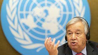 أمين عام الأمم المتحدة، البرتغالي أنطونيو غوتيريش