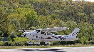 Αεροσκάφος τύπο Cessna - φωτό αρχείου
