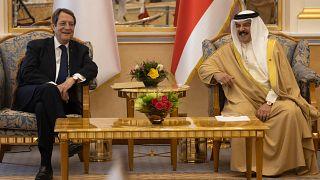 Ο Βασιλιάς του Μπαχρέιν Hamad bin Isa Khalifa υποδέχεται τον Πρόεδρο της Δημοκρατίας κ. Νίκο Αναστασιάδη