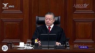 Arturo Zaldívar, presidente de la Corte Suprema de México