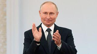 الرئيس الروسي فلاديمير بوتين موسكو، روسيا، 30 يونيو 2021
