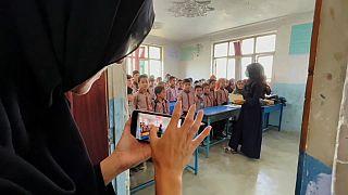 Private Grundschule in Kabul